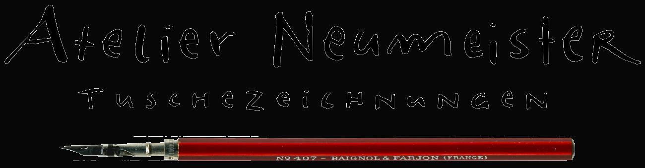 Alex Neumeister Karikatur und Zeichnungen aus Dresden a.d. Frauenkirche